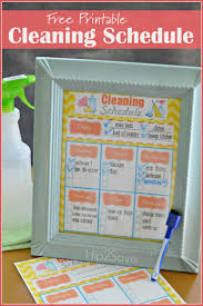 House Cleaning List Template Best 25 Weekly Cleaning Schedule Printable Ideas On Pinterest