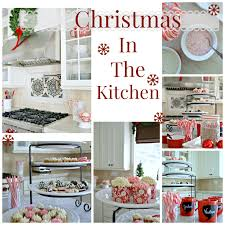christmas decorating in the kitchen norma budden