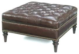 Leather Square Ottoman Coffee Table Large Square Ottoman Extraordinary Large Square Leather Ottoman