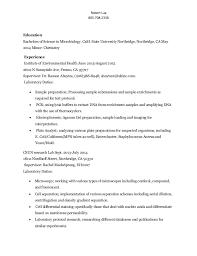 Microbiologist Sample Resume by Download Resume Temp Haadyaooverbayresort Com