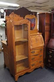 Maddox Tables Secretary Desk by Antique Oak Drop Front Secretary Desk Decorative Desk Decoration