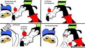 Dolan Duck Meme Generator - group of danger dolan meme