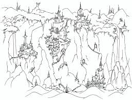irish castle coloring page castle on cliffs coloring page coloring book