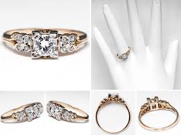 1940s engagement rings 1940 engagement ring arrow in band 1 ifec ci