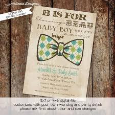 bow tie baby shower invitations bow tie baby shower invitation katiedid designs