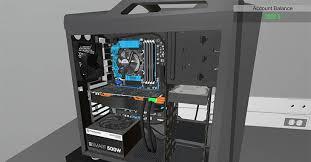 monter ordinateur de bureau pc building simulator un jeu pour apprendre à monter un pc de bureau