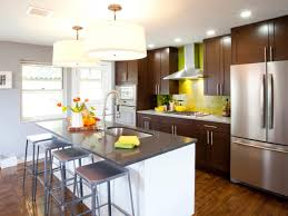 Galley Kitchen Layouts With Island Small Kitchen Island Ideas Pictures U0026 Tips From Hgtv Hgtv
