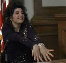 marisa tomei my cousin vinny jumpsuit my biological clock is ticking like this the way this is