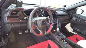 inside of a honda civic look at the 2017 honda civic type r prototype interior