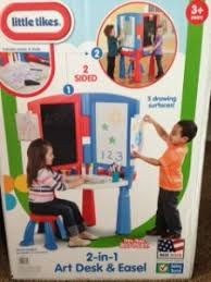little tikes 2 in 1 art desk and easel review