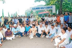 siege caddie b b golmuri siege hits golfers b