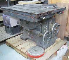 stenner abm rip sliding table saw ebay vintage woodworking