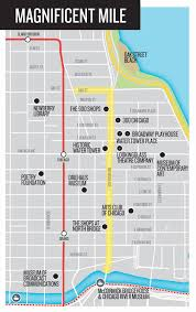 chicago map with attractions chicago maps