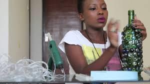 d i y wine bottle lamp muthoni gitau youtube