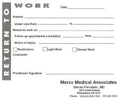 10 best images of blank printable doctors note for work blank
