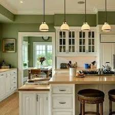 green and white kitchen cabinets 10 beautiful kitchens with green walls counter top green walls