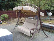 Costco Outdoor Furniture Replacement Cushions by Another Made In Usa Costco Patio Swing Replacement Canopy And
