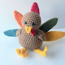 free pattern crocheted turkey crochet toys and doll clothes