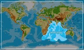 Indian Ocean Map Indian Ocean Bluegrowth Agenda 2030