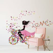 stickers geant chambre fille name wall sticker wall stickers geant chambre fille
