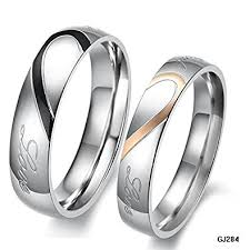promise ring sets k design his and hers promise ring sets fashion korean