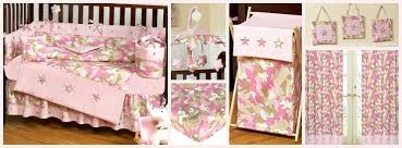 Camouflage Bedding For Cribs Camouflage Pink Baby Bedding Camo Nursery