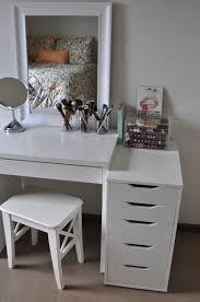 Modern Desk Organizers by Bedroom Divine Make Up Desk Ideas With Vanity Mirrored Desk Makeup