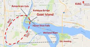 Niagra Falls Map Ga Flying Over Niagara Falls U2013 Fly U0027n Things
