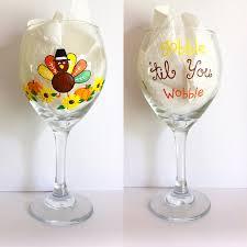 thanksgiving happy hour glassware