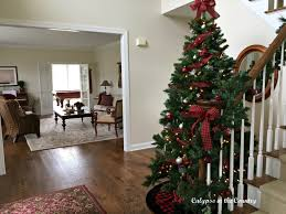 christmas house tour calypso in the country