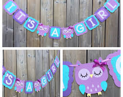 purple owl baby shower decorations purple owl etsy