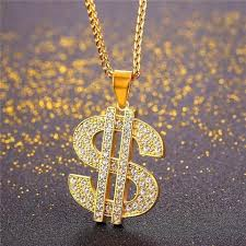 hip hop style necklace images Buy coin hip hop chains us dollar money necklace pendant unisex jpg