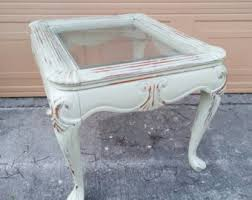 distressed table etsy