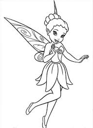 pictures tinkerbell friends kids coloring