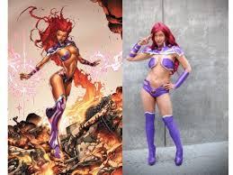 Starfire Costume Superheroine Costume History List Hubpages