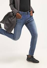 mos mosh bukser damer mos mosh hoxton relaxed fit blue denim mos
