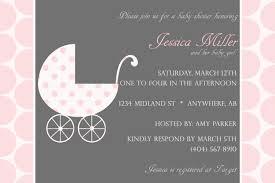 pink and gray baby shower invitations blueklip