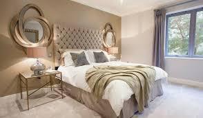chambre beige et blanc chambre masculine peinture mur chambre