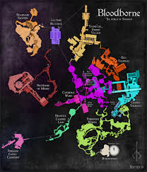 Xenoblade Chronicles Map Check Out The Completed Map Of The World Of Bloodborne Stevivor