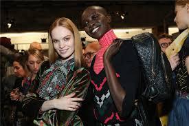 fashion style in desigual york fashion week backstage
