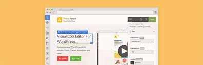 pencil photo editor visual css style editor plugins