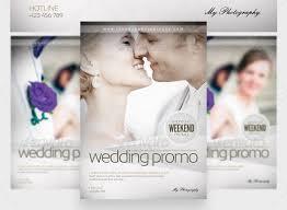 wedding photography brochure template 15 great wedding flyer