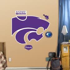 Amazon Wall Murals Amazon Com Ncaa Kansas State Wildcats Logo Wall Graphic Sports