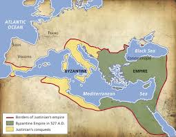 Byzantine Empire Map The Byzantine Empire Geography U0026 History History Middle Ages 2