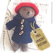 crochet paddington bear crochet