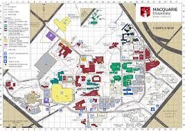 Clu Campus Map Macquarie University Peta Jpg