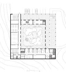Louis Kahn Floor Plans by Simon Ungers Silent Architecture Library Section And Plan 2003