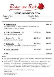 wedding flowers quote form weddingquoteexle 1 jpg