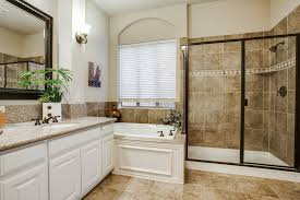 Shower In Bathroom Traditional Master Bathroom With Shower Simple Granite
