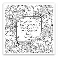 206 Best Adult Scripture Coloring Pages Images On Pinterest Free Printable Christian Coloring Pages